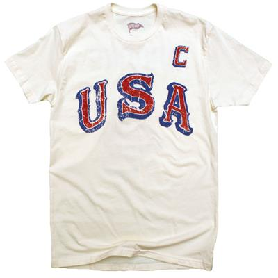 Front (1968 Herb Brooks USA Hockey Tee Shirt - Adult)