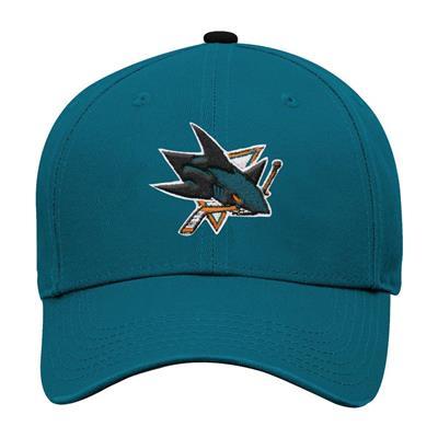 Front (Adidas San Jose Sharks Basic Youth Hat)