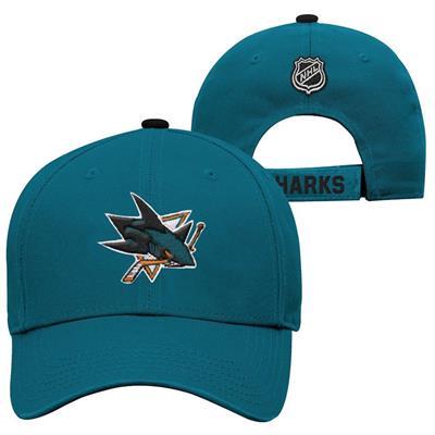 San Jose Sharks (Adidas San Jose Sharks Basic Youth Hat)