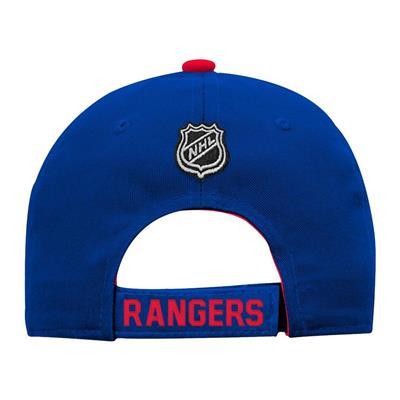 Back (Adidas New York Rangers Basic Youth Hat)