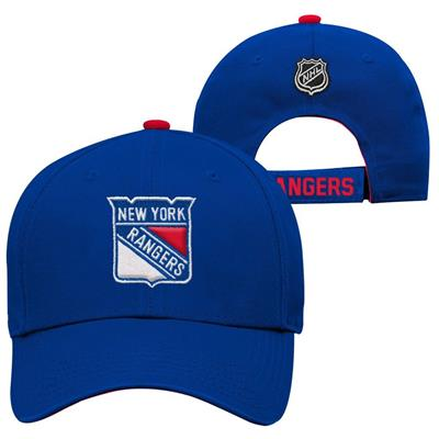 New York Rangers (Adidas New York Rangers Basic Youth Hat)