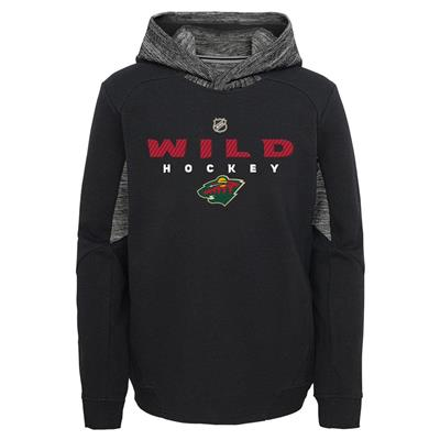Front (Adidas Hyper Physical Hoodie - Minnesota Wild - Youth)