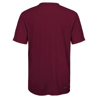 Back (Adidas Colorado Avalanche Avalanche Short Sleeve Tee Shirt - Youth)