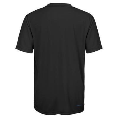 Back (Adidas Boston Bruins Avalanche Short Sleeve Tee Shirt - Youth)