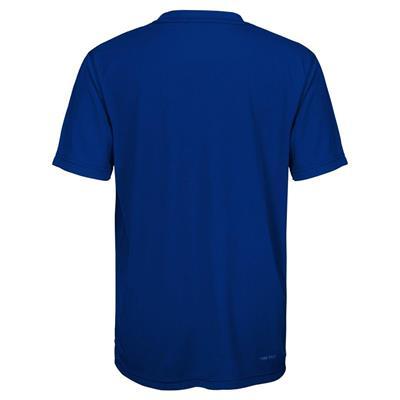 Back (Adidas New York Islanders Avalanche Short Sleeve Tee Shirt - Youth)