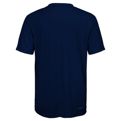 Back (Adidas Buffalo Sabres Avalanche Short Sleeve Tee Shirt - Youth)