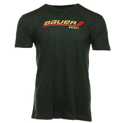 Green (Bauer Stick Logo Tee - Adult)
