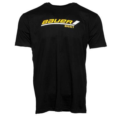 Black (Bauer Stick Logo Tee - Youth)