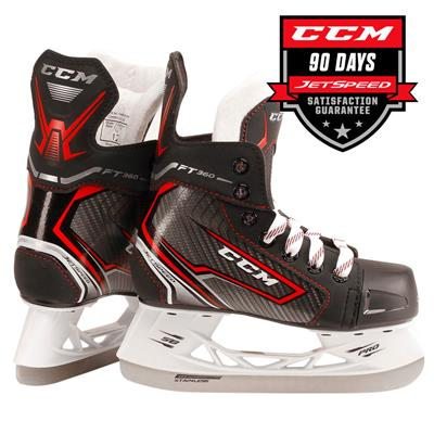 (CCM JetSpeed FT360 Ice Hockey Skates - Youth)