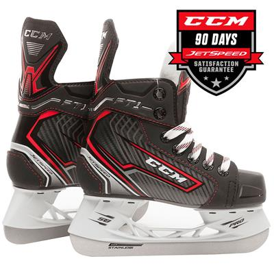 (CCM Jetspeed FT1 Ice Hockey Skates - Youth)