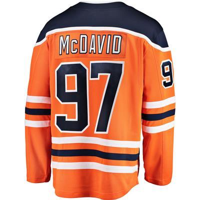 Back (Fanatics Edmonton Oilers Replica Home Jersey - Connor McDavid - Adult)