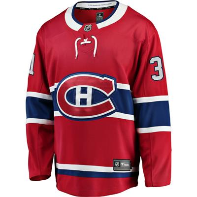 Front (Fanatics Montreal Canadiens Replica Home Jersey - Carey Price - Adult)