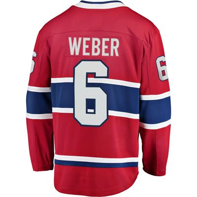 Back (Fanatics Montreal Canadiens Replica Jersey - Shea Weber - Adult)