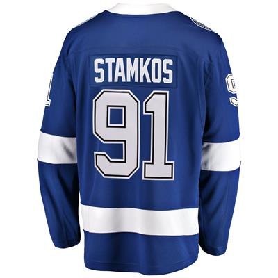 Back (Fanatics Tampa Bay Lightning Replica Jersey - Steven Stamkos - Adult)