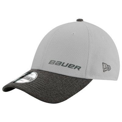 Grey (Bauer New Era 9Forty Adjustable Cap - Youth)