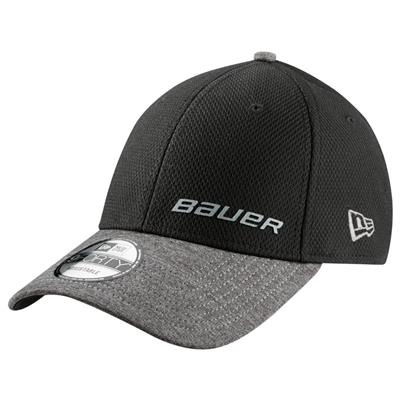 Black (Bauer New Era 9Forty Adjustable Cap - Adult)