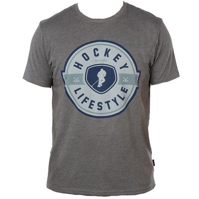 Grey (Gongshow Living in Style Tee Shirt - Mens)