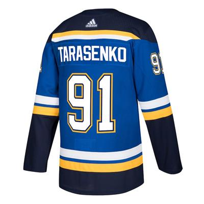 Back (Adidas Vladimir Tarasenko St. Loius Blues Authentic NHL Jersey - Home - Adult)