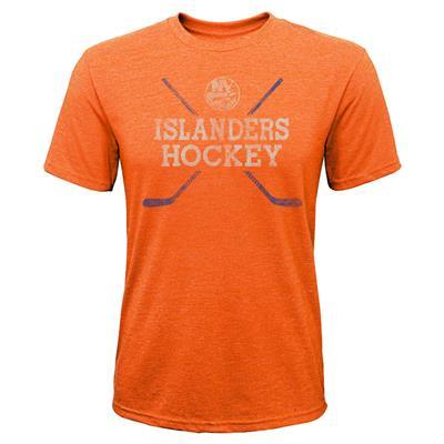 New York Islanders (Adidas New York Islanders Score Short Sleeve Tee Shirt - Youth)