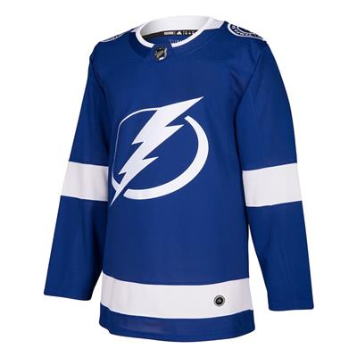 Front (Adidas Tampa Bay Lightning Authentic NHL Jersey - Home - Adult)