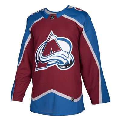 Front (Adidas Colorado Avalanche Authentic NHL Jersey - Home - Adult)