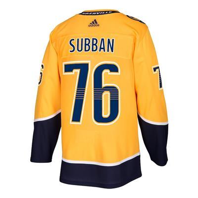 Back (Adidas PK Subban Nashville Predators Authentic NHL Jersey - Home - Adult)