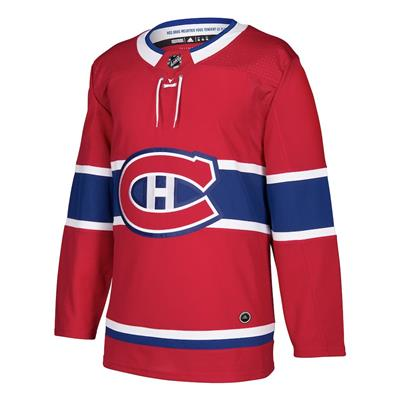 Front (Adidas Montreal Canadiens Authentic NHL Jersey - Home - Adult)