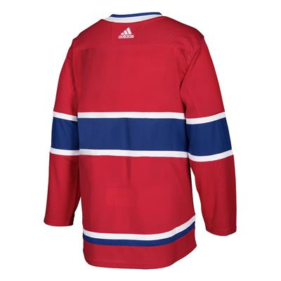 Back (Adidas Montreal Canadiens Authentic NHL Jersey - Home - Adult)