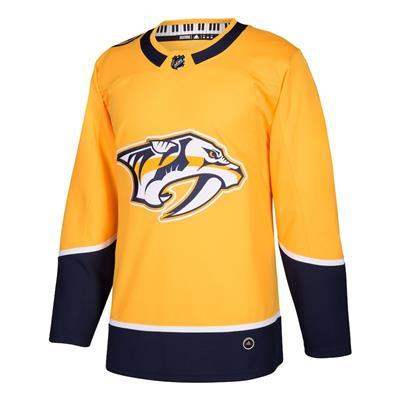 Front (Adidas Nashville Predators Authentic NHL Jersey - Home - Adult)