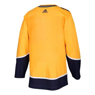 Back (Adidas Nashville Predators Authentic NHL Jersey - Home - Adult)