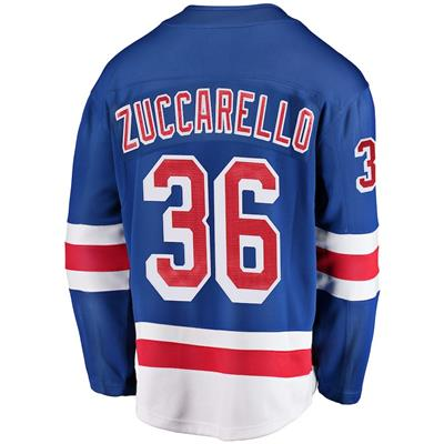 Back (Fanatics New York Rangers Replica Jersey - Mats Zuccarello - Adult)