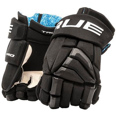 Black (TRUE X-Core Pro Hockey Gloves - Senior)