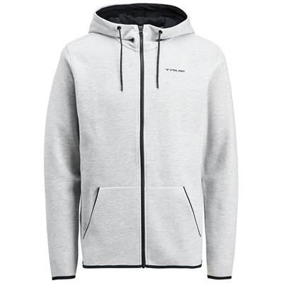 Light Grey (TRUE XCore Nordic Sweat Zip Hoody - Adult)