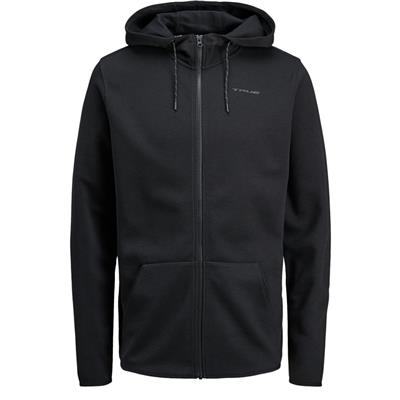 Black (TRUE XCore Nordic Sweat Zip Hoody - Adult)