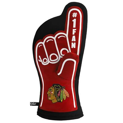 (YouTheFan #1 Oven Mitt - Chicago Blackhawks)