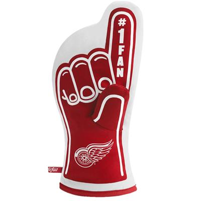 (YouTheFan #1 Oven Mitt - Detroit Red Wings)