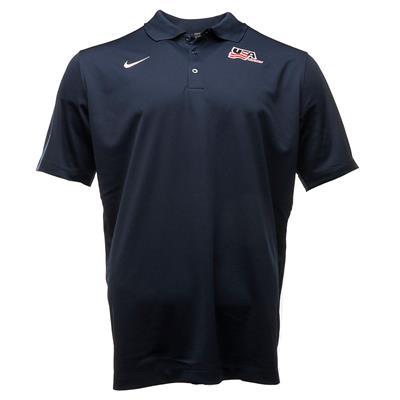 (Nike USA Hockey Polo - Adult)