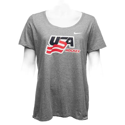 (Nike USA Hockey Crew Tee - Womens)