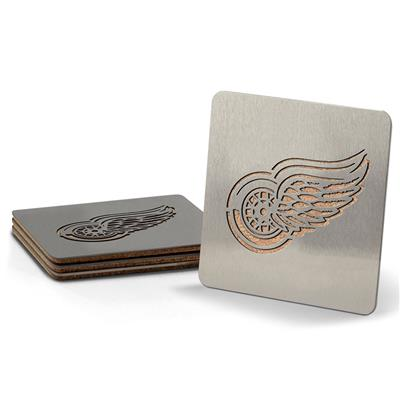 (YouTheFan 4-Piece NHL Team Boasters Set - Detroit Red Wings)
