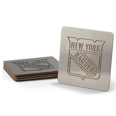 (YouTheFan 4-Piece NHL Team Boasters Set - New York Rangers)