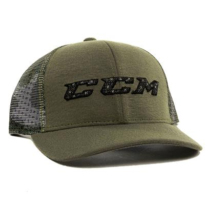 Army Green (CCM Camo Meshback Exclusive Cap - Adult)