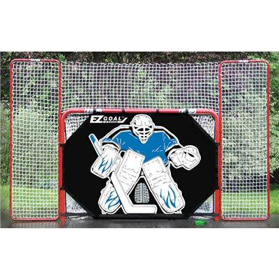 (EZ Goal EZ Goal w/ Backstop & Shooter Tutor)