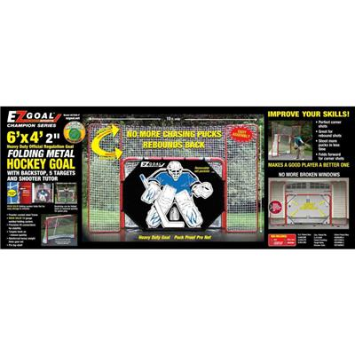 Box (EZ Goal EZ Goal w/ Backstop & Shooter Tutor)