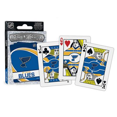 (NHL Playing Cards - St. Louis Blues)