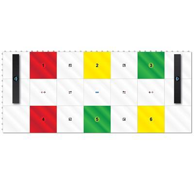 (Hockey Revolution Dryland Training Flooring Tiles - My Puzzle System)