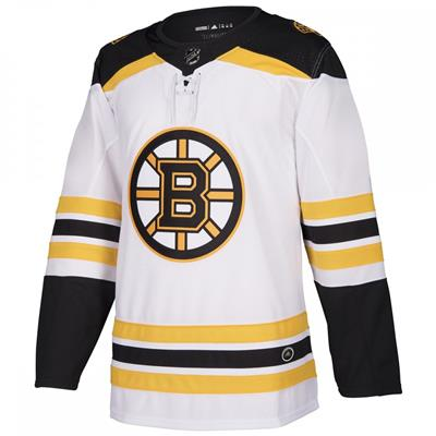 Front (Adidas Boston Bruins Authentic NHL Jersey - Away - Adult)