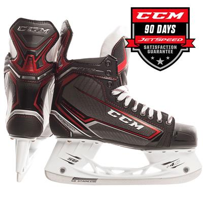(CCM Jetspeed FT370 Ice Hockey Skates - Junior)