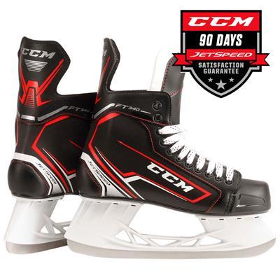 (CCM JetSpeed FT340 Ice Hockey Skates - Junior)
