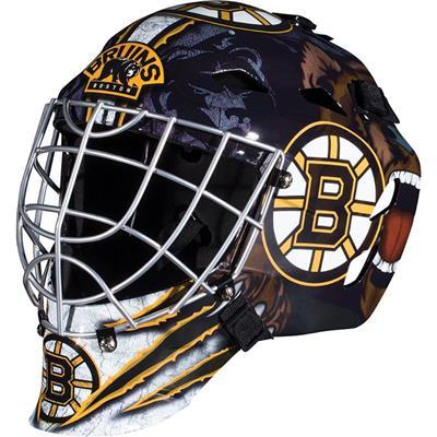 Boston Bruins (Franklin GFM1500 NHL Decal Street Hockey Goalie Mask)