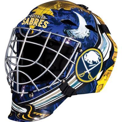 Buffalo Sabres (Franklin GFM1500 NHL Decal Street Hockey Goalie Mask)